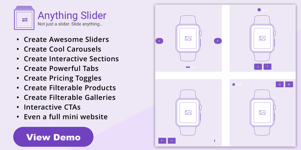 Anything Slider - Divi Plugin