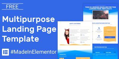 free-multipurpose-elementor-template