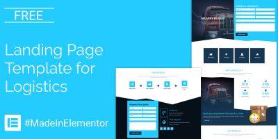 logistics-elementor-template-social