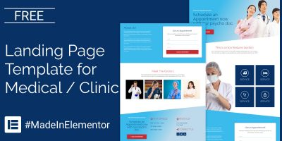 medical-elementor-template-social